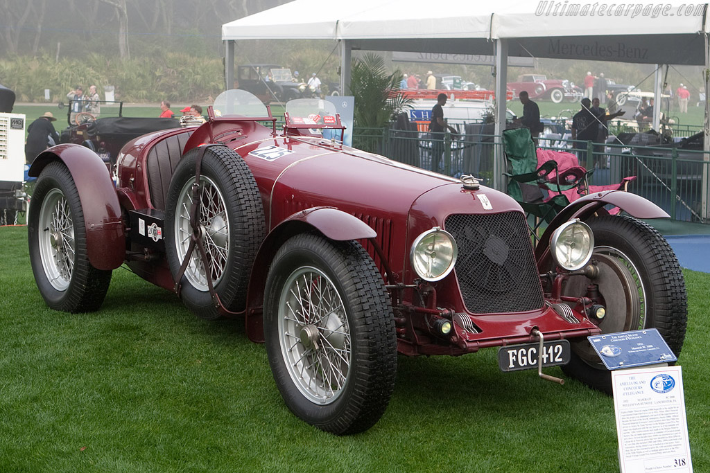 Maserati 8C 3000 - Chassis: 3004   - 2009 Amelia Island Concours d'Elegance
