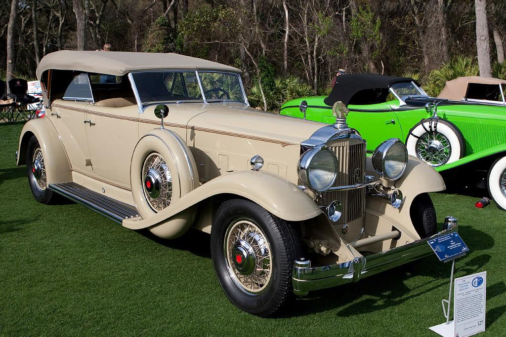 Packard 904 Dietrich Sport Phaeton    - 2009 Amelia Island Concours d'Elegance