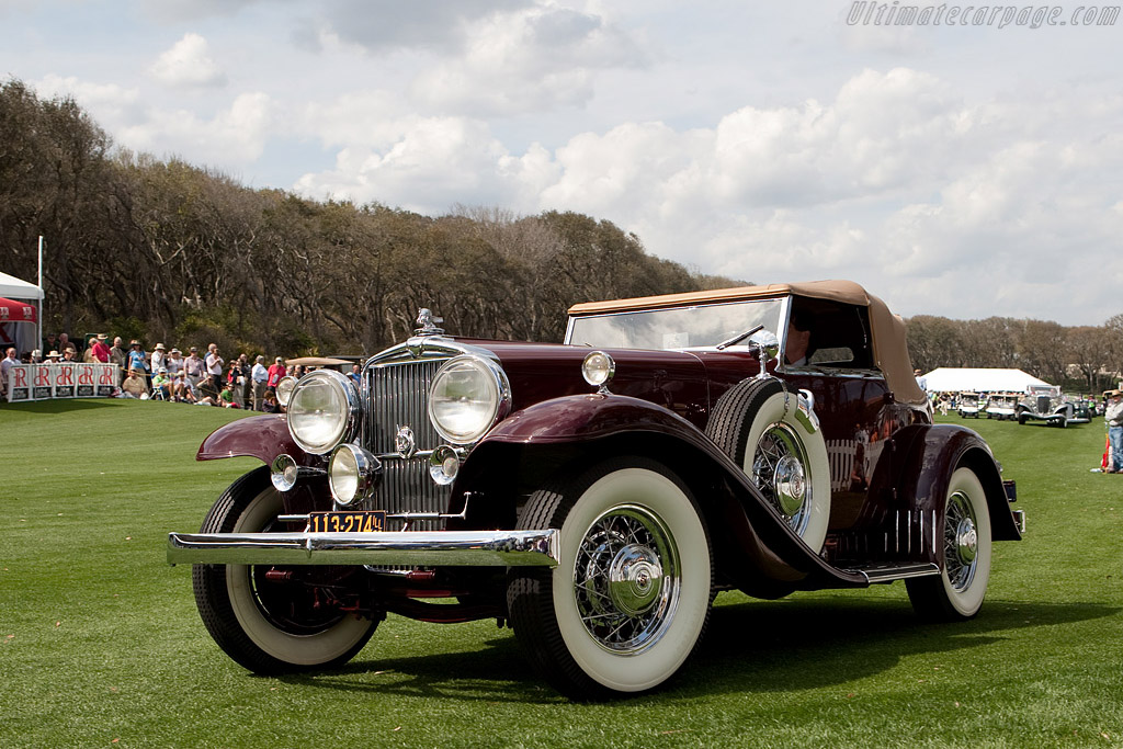 Stutz Super Bearcat  - Entrant: North Collection  - 2009 Amelia Island Concours d'Elegance
