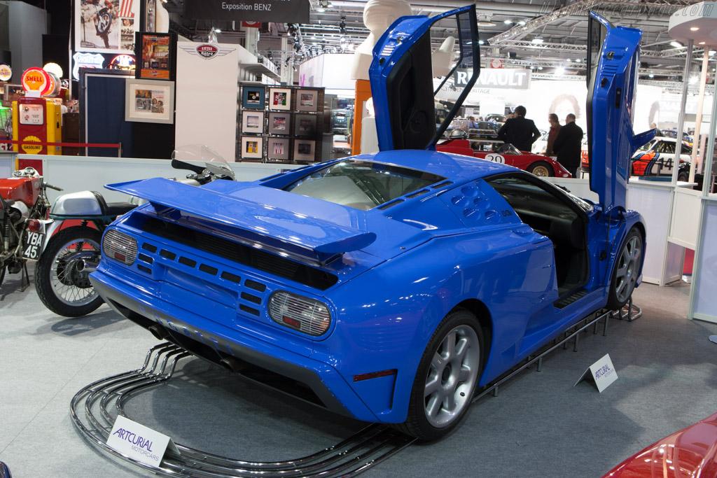 Bugatti EB110 SS - Chassis: ZA9CB02U5RCD39025   - 2013 Retromobile