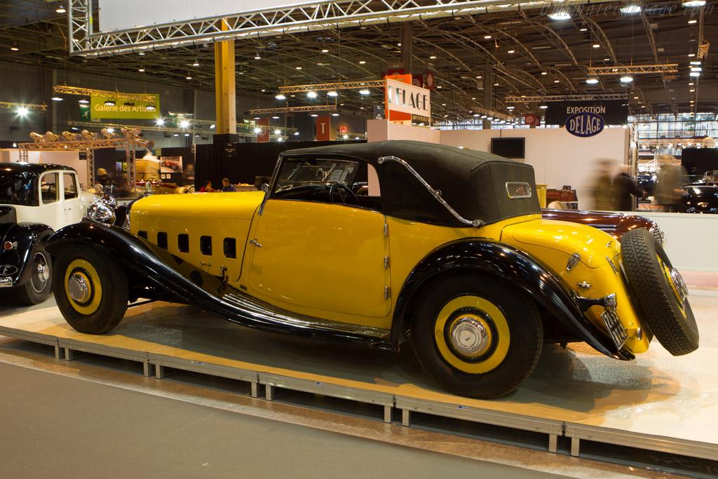 Delage D8 S Pourtout Cabriolet - Chassis: 38237   - 2014 Retromobile