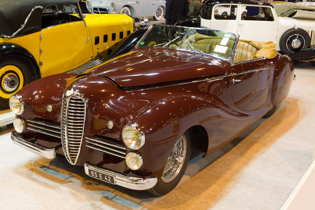 Delahaye 135 MS Saoutchik Cabriolet - Chassis: 801610   - 2014 Retromobile
