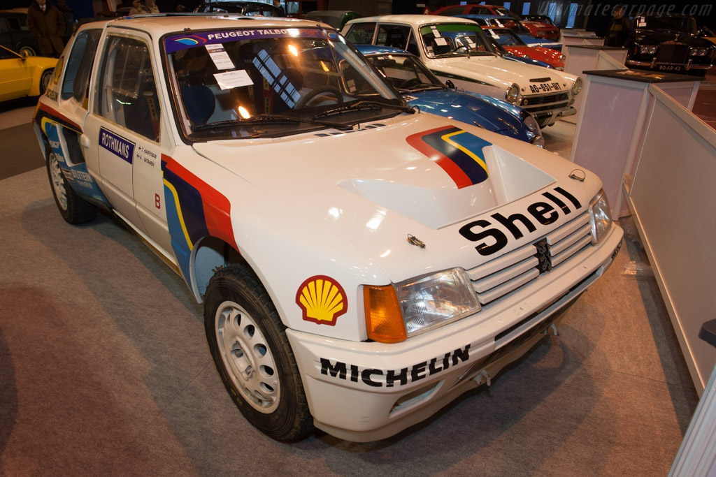 Peugeot 205 Turbo 16 Group B - Chassis: VF3741R76E5200014   - 2014 Retromobile