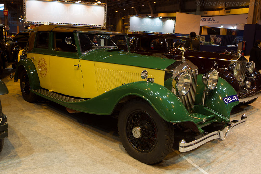 Rolls-Royce Phantom II Continental Kellner Cabriolet - Chassis: 99RY   - 2014 Retromobile