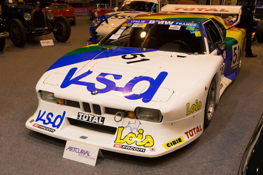 BMW M1 Group 5 - Chassis: 94301059   - 2015 Retromobile