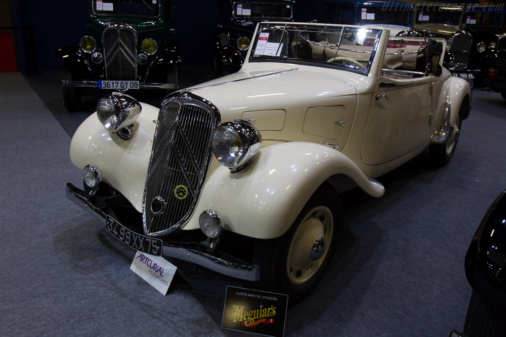 Citroën Traction 11 BL Cabriolet - Chassis: 437937   - 2016 Retromobile