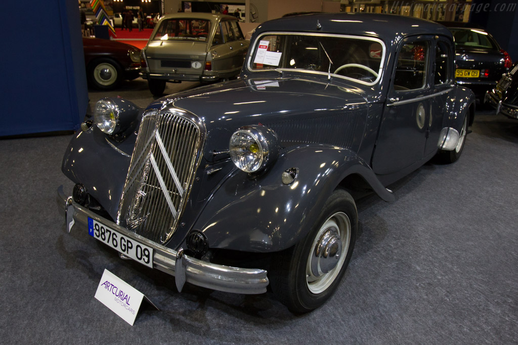 Citroën Traction 15-Six H Berline - Chassis: 727127   - 2016 Retromobile