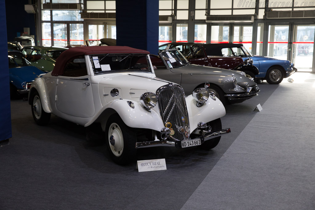 Citroën Traction 7 Sport Roadster - Chassis: 02108   - 2017 Retromobile