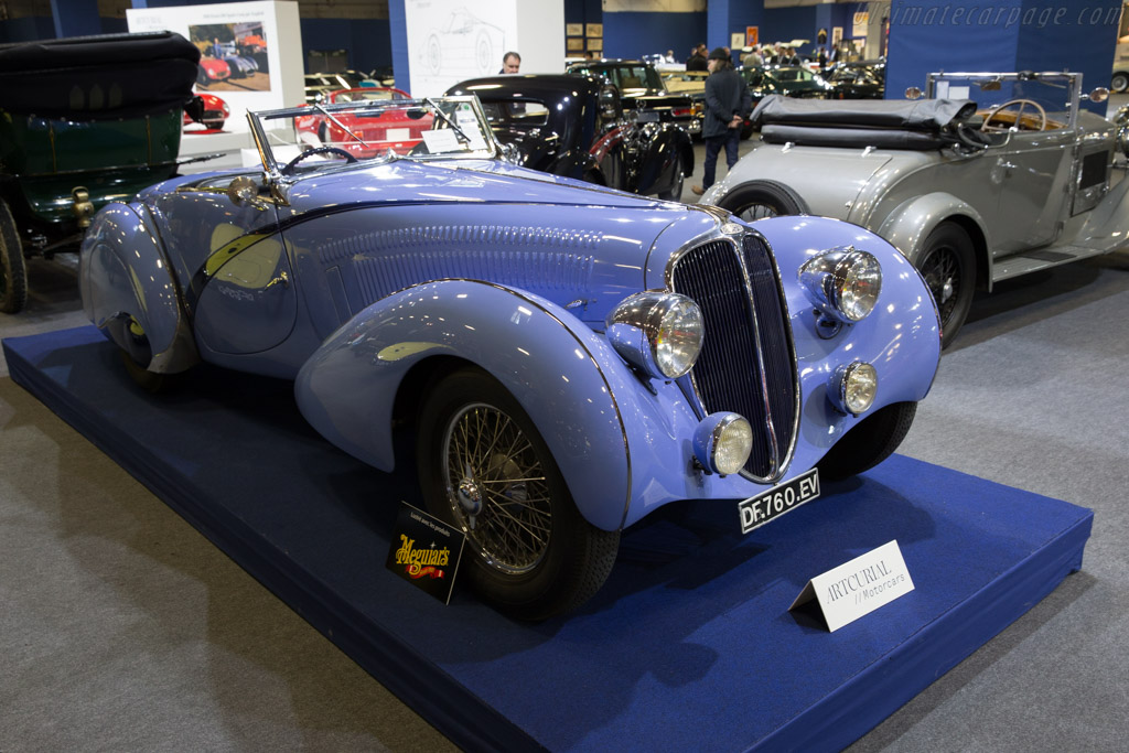 Delahaye 135 Competition Court Figoni & Falaschi Cabriolet - Chassis: 46837   - 2017 Retromobile