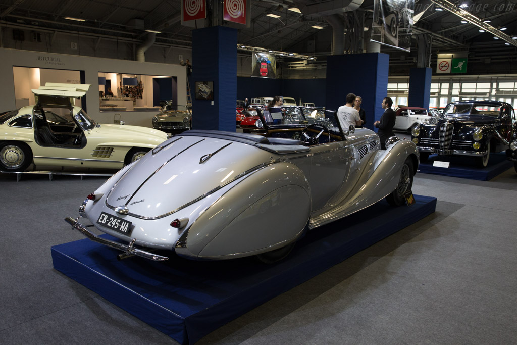 Delahaye 135 MS Figoni & Falaschi Cabriolet - Chassis: 60173   - 2017 Retromobile