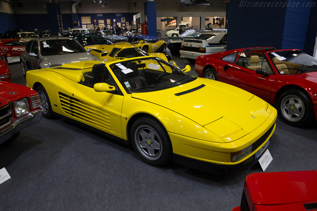Ferrari Testarossa Spider Conversion - Chassis: 81586   - 2017 Retromobile