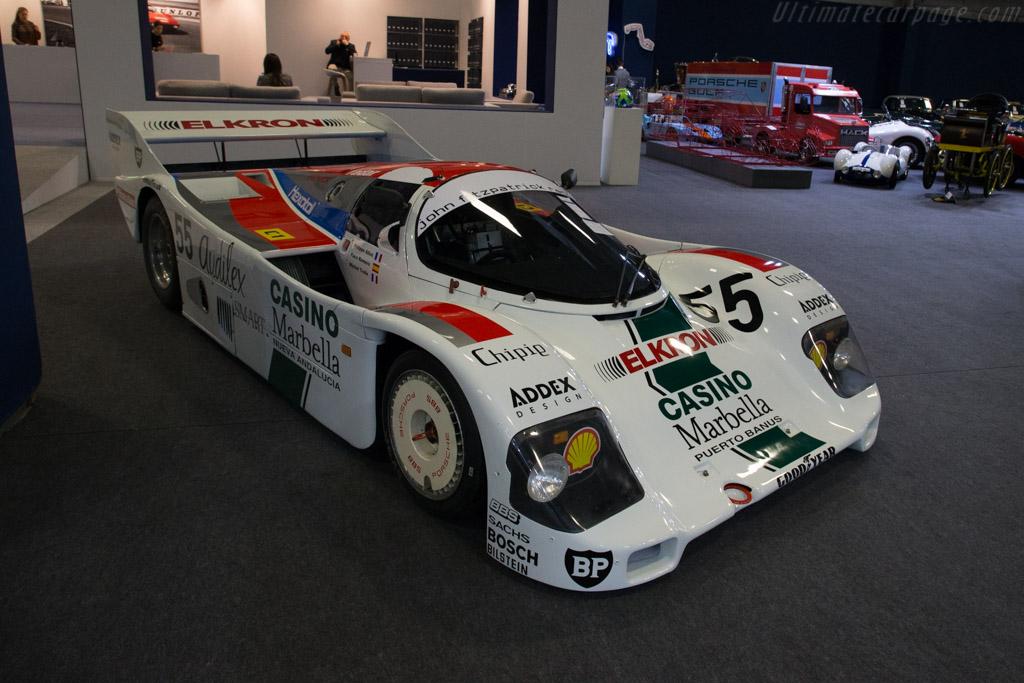 Porsche 962C - Chassis: 962-112   - 2018 Retromobile