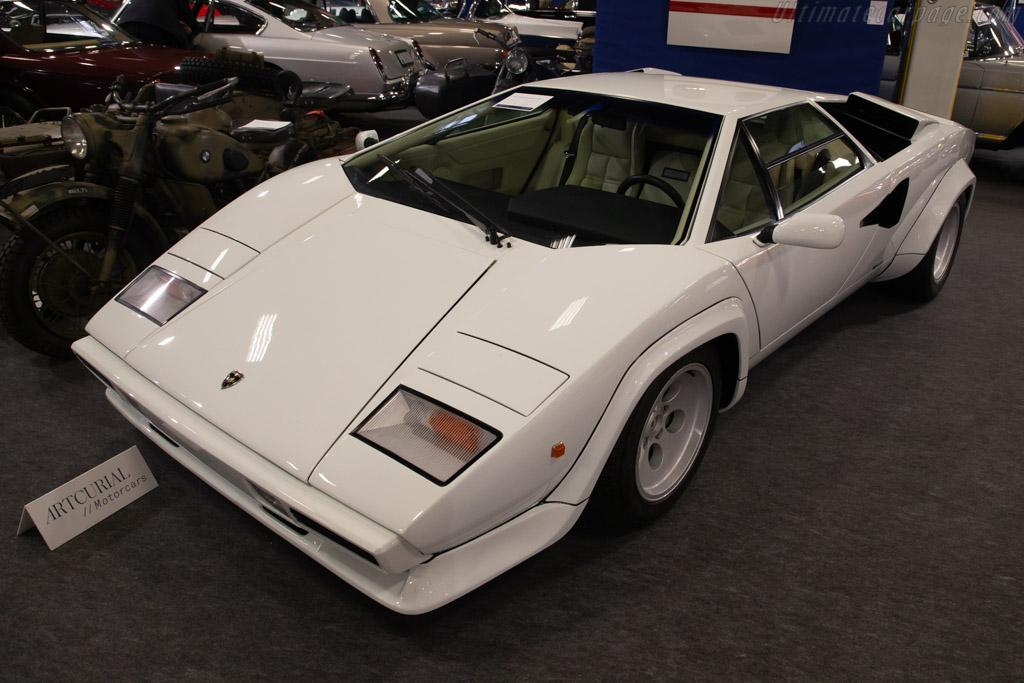 Lamborghini Countach LP500 S - Chassis: ZA9C00500ELA12740  - 2020 Retromobile