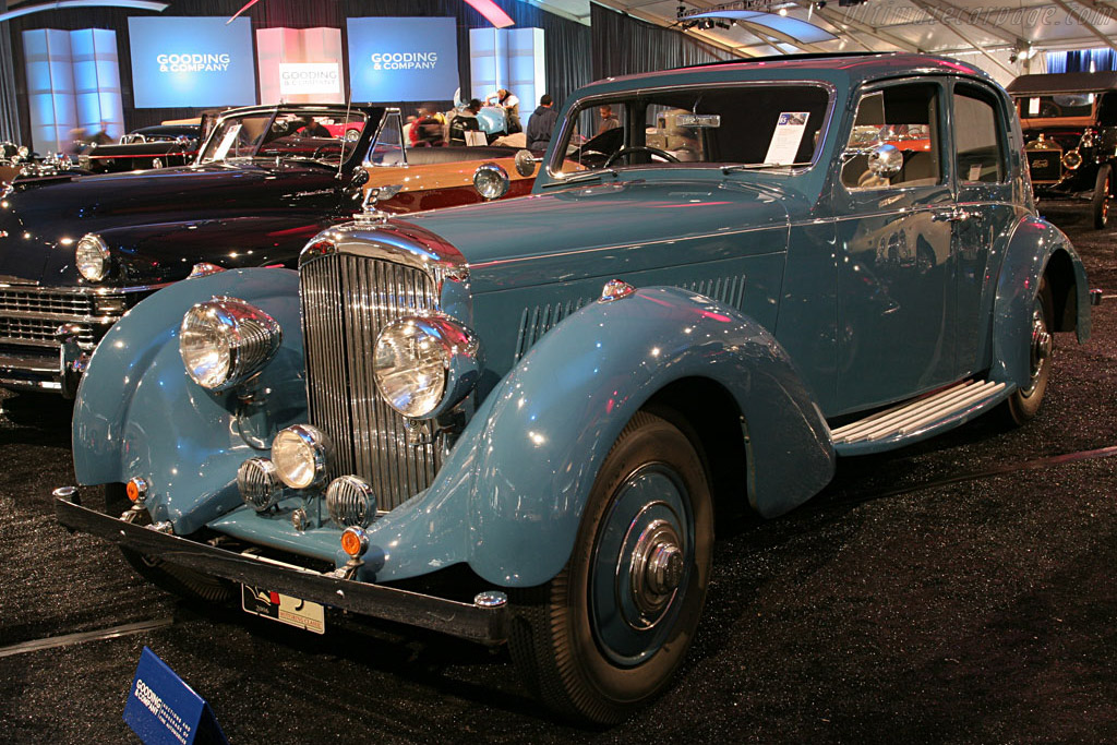 Bentley 4 1/4 Litre Pillarless Saloon - Chassis: B3MX   - 2006 Monterey Peninsula Auctions and Sales