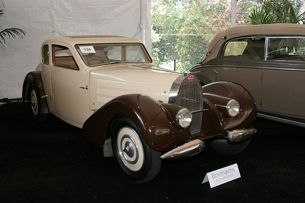 Bugatti Type 57 Ventoux Coupe - Chassis: 57614   - 2006 Monterey Peninsula Auctions and Sales