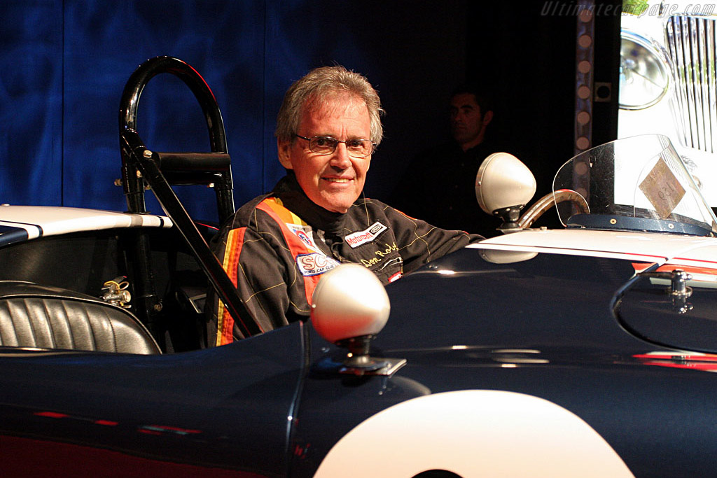 Don Roberts in his old Cobra - Chassis: CSX2473   - 2006 Monterey Peninsula Auctions and Sales