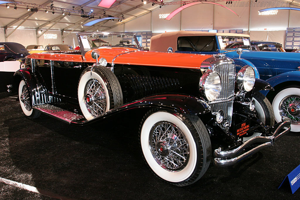 Duesenberg J Brunn Riviera Phaeton - Chassis: 2550 J-521   - 2006 Monterey Peninsula Auctions and Sales