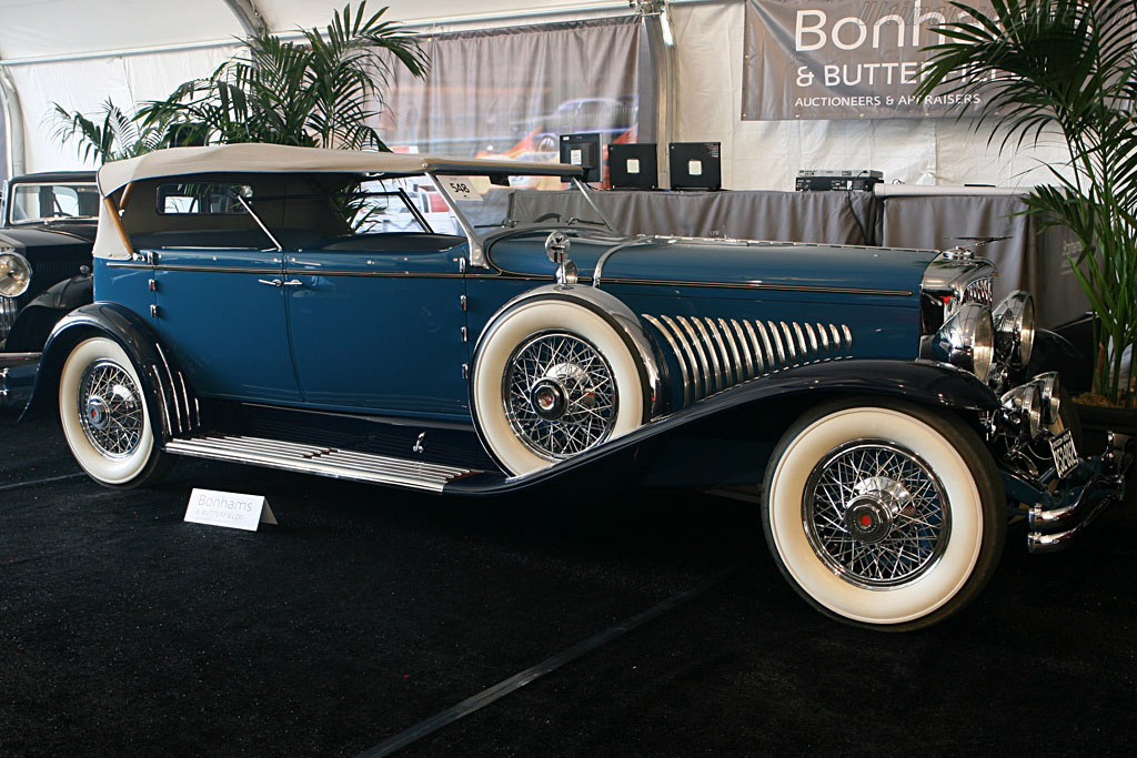 Duesenberg J Convertible Sedan - Chassis: 2253 J-245   - 2006 Monterey Peninsula Auctions and Sales