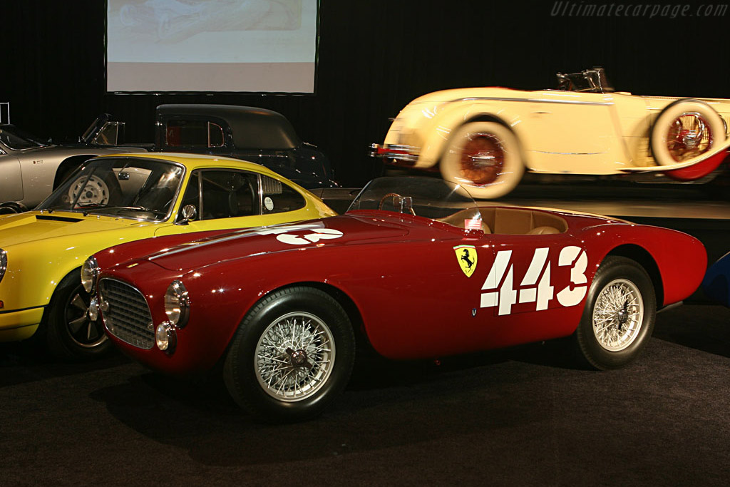 Ferrari 225 Sport Spyder - Chassis: 0160ED   - 2006 Monterey Peninsula Auctions and Sales