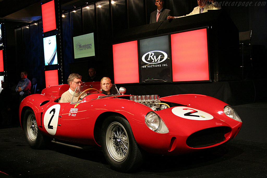 Ferrari 412 S - Chassis: 0744   - 2006 Monterey Peninsula Auctions and Sales