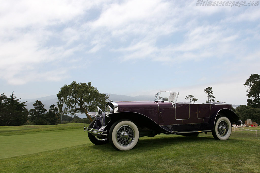 Isotta Fraschini 8A Sala Torpedo Phaeton    - 2006 Monterey Peninsula Auctions and Sales