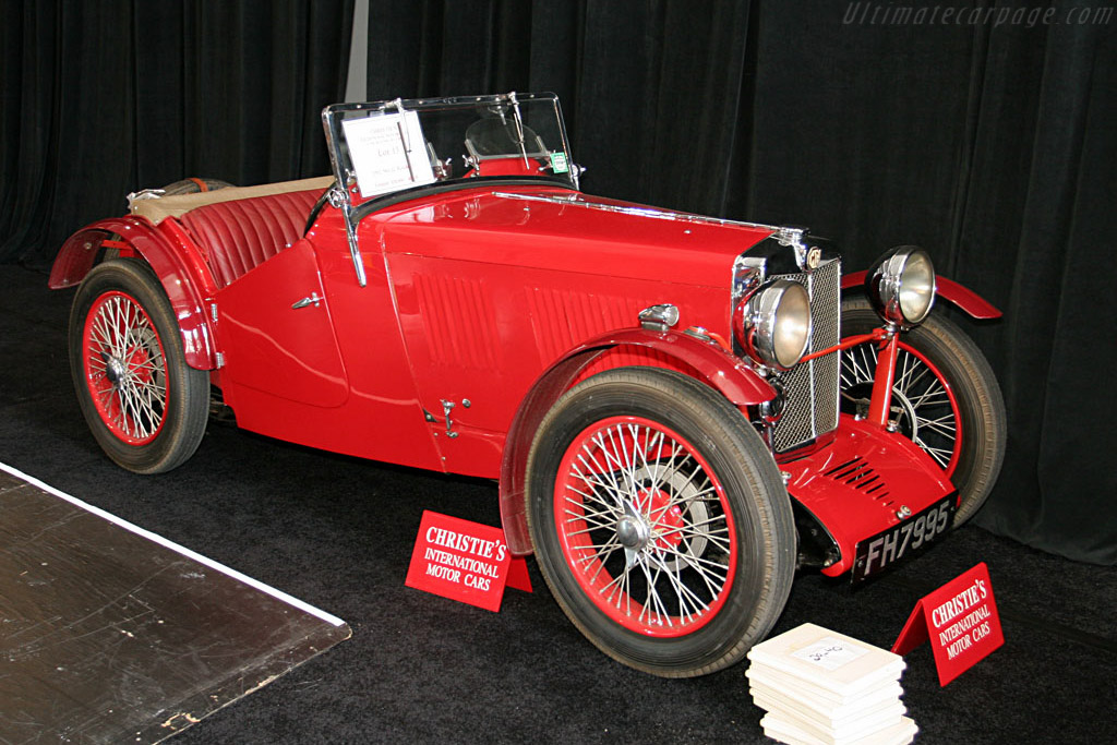 MG J2 Roadster - Chassis: J2679   - 2006 Monterey Peninsula Auctions and Sales