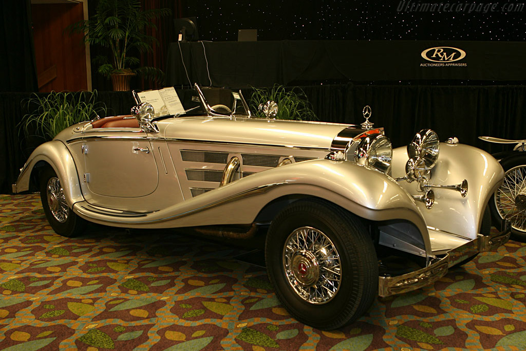 Mercedes-Benz 540 K Spezial Roadster - Chassis: 113659   - 2006 Monterey Peninsula Auctions and Sales