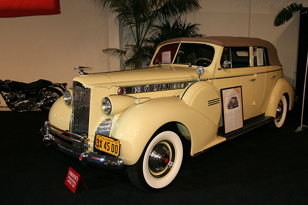 Packard 160 Super Eight Convertible Sedan - Chassis: 13772130   - 2006 Monterey Peninsula Auctions and Sales