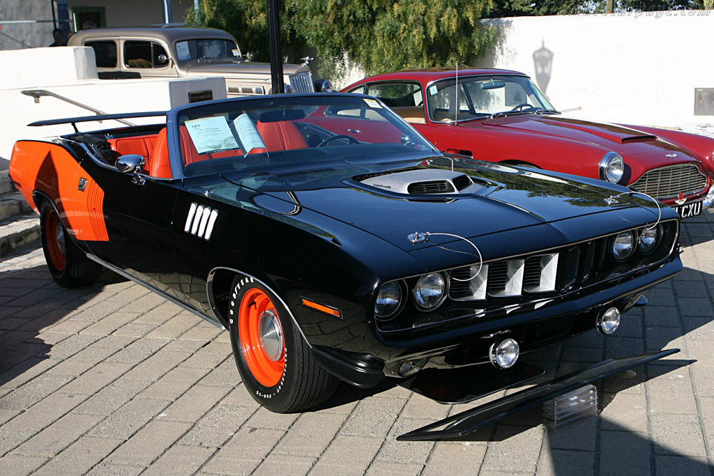 Plymouth Hemi Cuda Convertible - Chassis: BH27C1B126595   - 2006 Monterey Peninsula Auctions and Sales