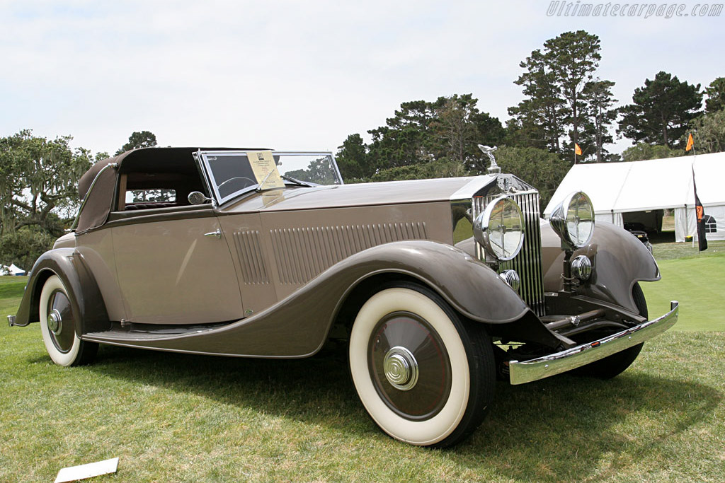 Rolls-Royce Phantom II Continental 3-Position Cabriolet    - 2006 Monterey Peninsula Auctions and Sales