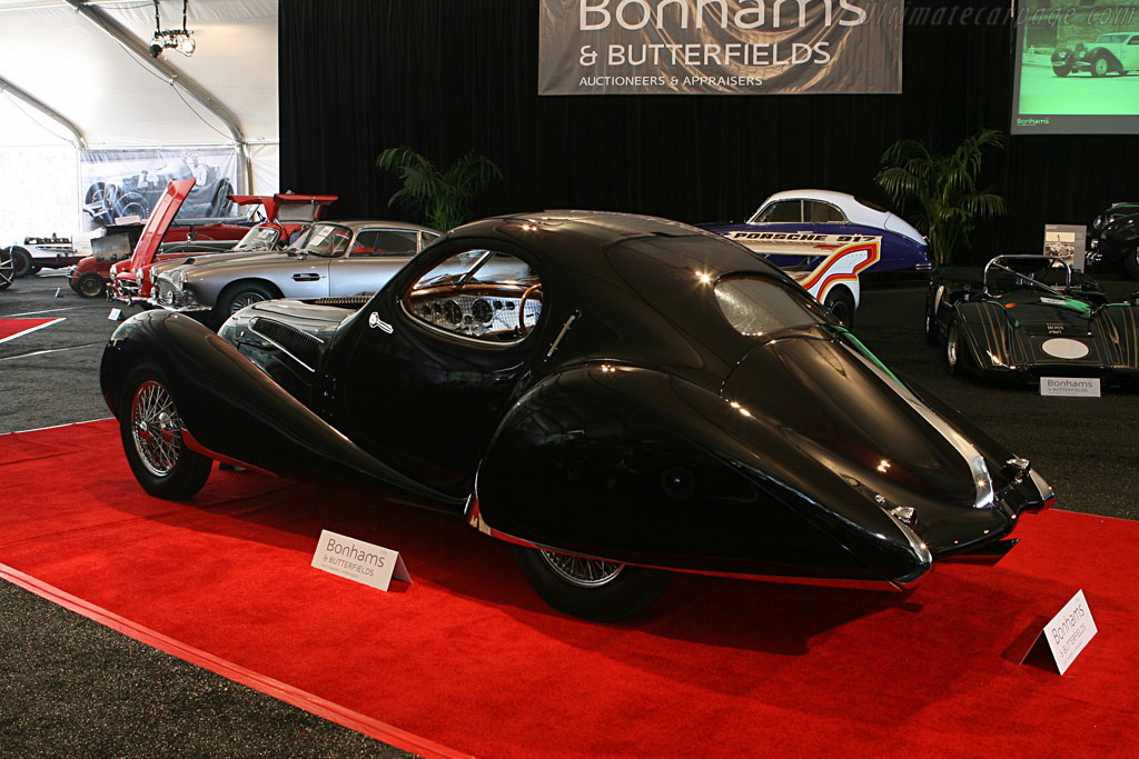 Talbot Lago T150 CSS Figoni & Falaschi Teardrop Coupe - Chassis: 90109   - 2006 Monterey Peninsula Auctions and Sales