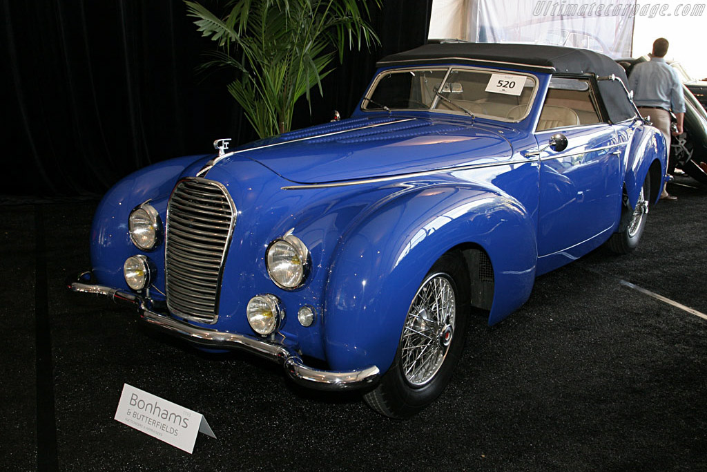 Talbot Lago T26 Record Dubos DHC - Chassis: 101003   - 2006 Monterey Peninsula Auctions and Sales