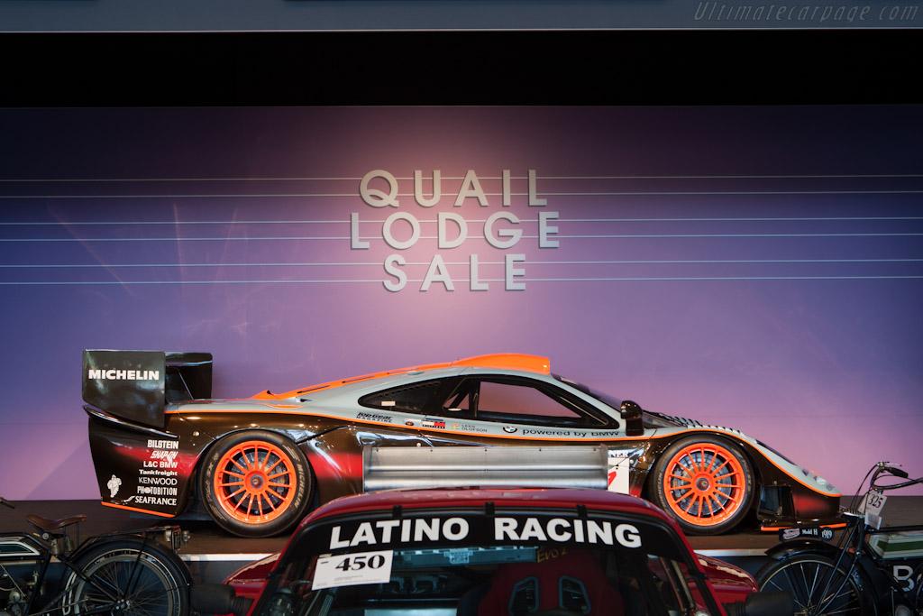 McLaren F1 GTR Longtail    - 2012 Monterey Auctions
