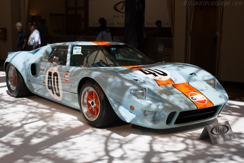 Ford GT40 Gulf    - 2012 Monterey Auctions
