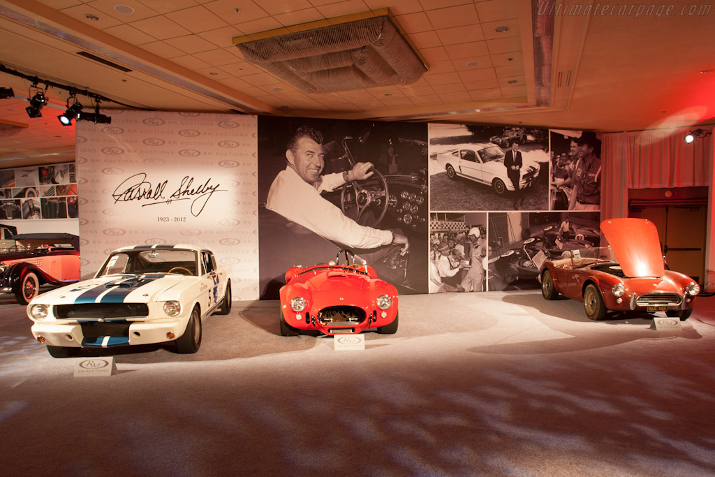 Carroll Shelby Honoured    - 2012 Monterey Auctions