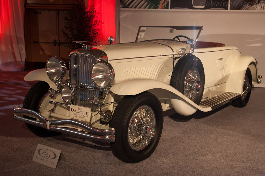 Duesenberg J Disappearing Top Convertible Coupe - Chassis: 2134 J-108   - 2012 Monterey Auctions