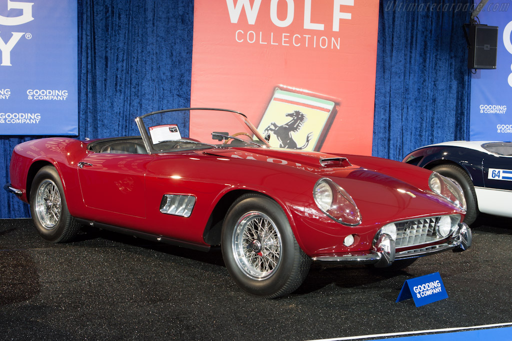 Ferrari 250 GT LWB California Competizione Spyder - Chassis: 1639GT   - 2012 Monterey Auctions