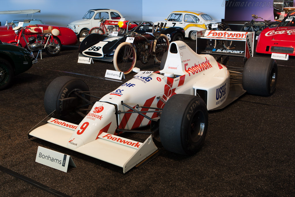 Footwork-Arrows FA11B - Chassis: A11B-03   - 2012 Monterey Auctions