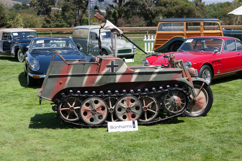 Kettenkrad Sdkfz 2    - 2012 Monterey Auctions