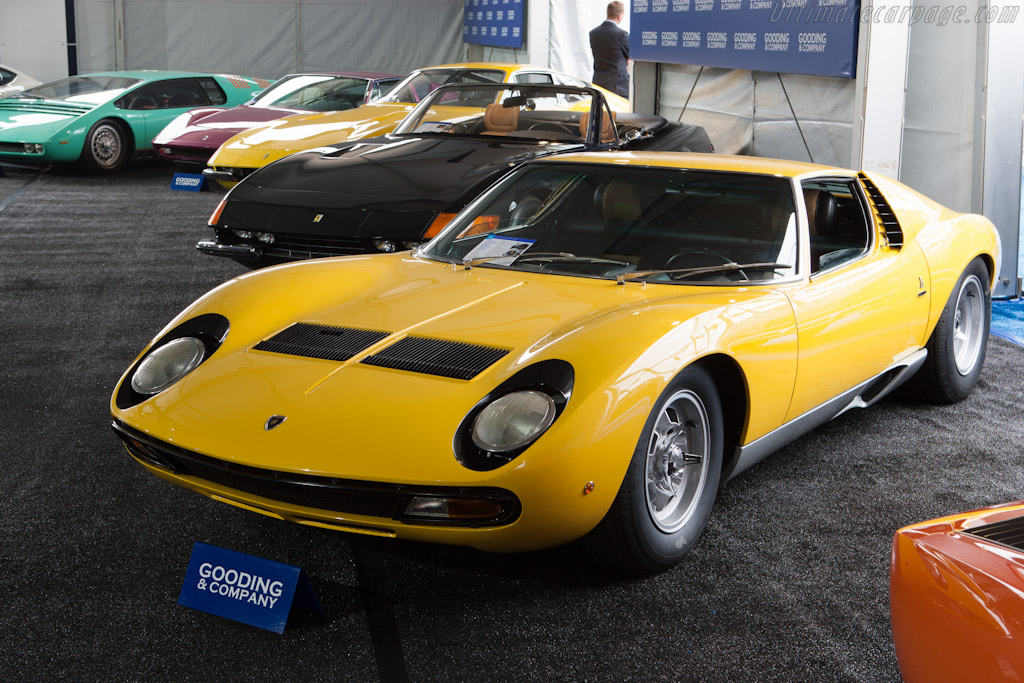 Lamborghini Miura SV - Chassis: 5048   - 2012 Monterey Auctions