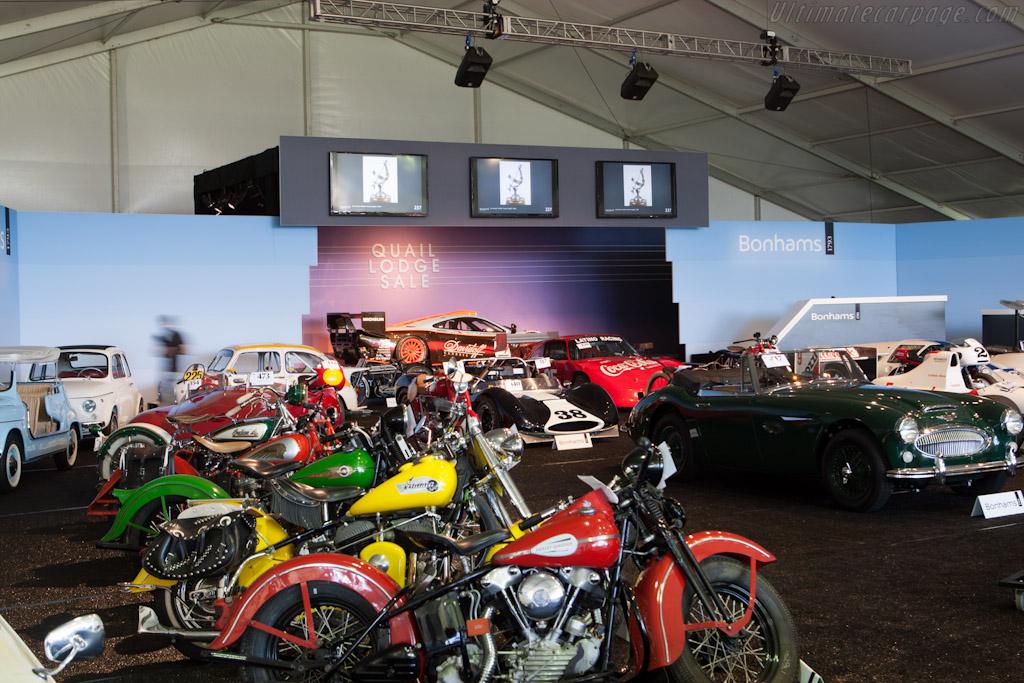 Main tent    - 2012 Monterey Auctions