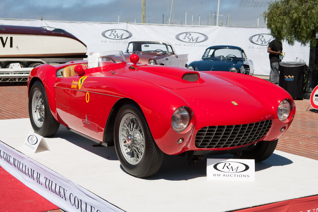 ferrari 500 mondial chassis 0418md 2013 monterey auctions. Black Bedroom Furniture Sets. Home Design Ideas
