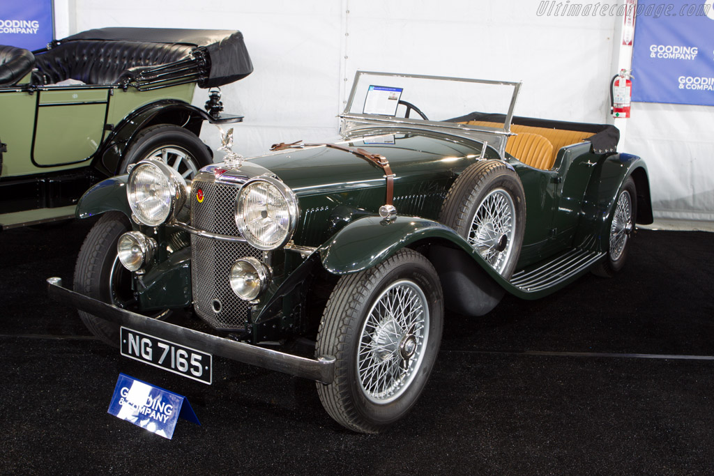 Alvis Speed 20 SB Tourer    - 2013 Monterey Auctions