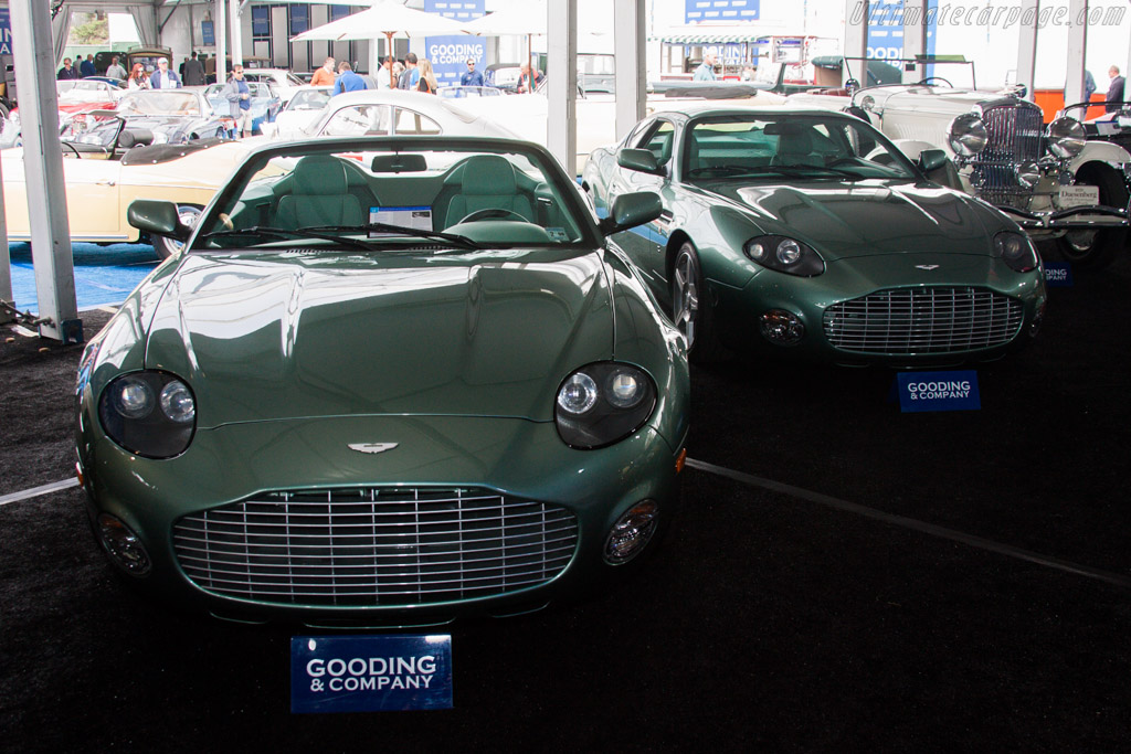 Aston Martin DB AR1 and DB7 Vantage Zagato - Chassis: K800002 and K700040   - 2013 Monterey Auctions