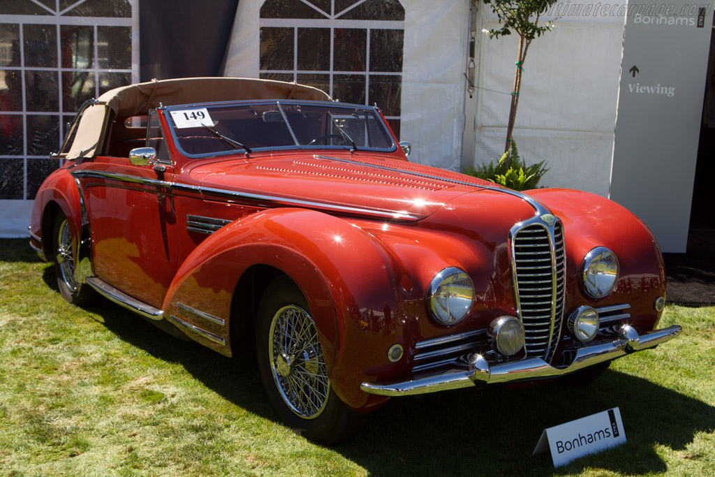 Delahaye 175 S Cabriolet Dandy - Chassis: 815028   - 2013 Monterey Auctions