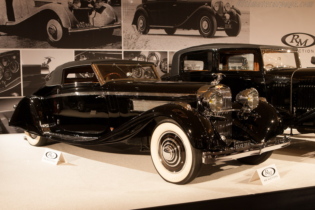 Hispano Suiza K6 Brandone Cabriolet - Chassis: 16035   - 2013 Monterey Auctions