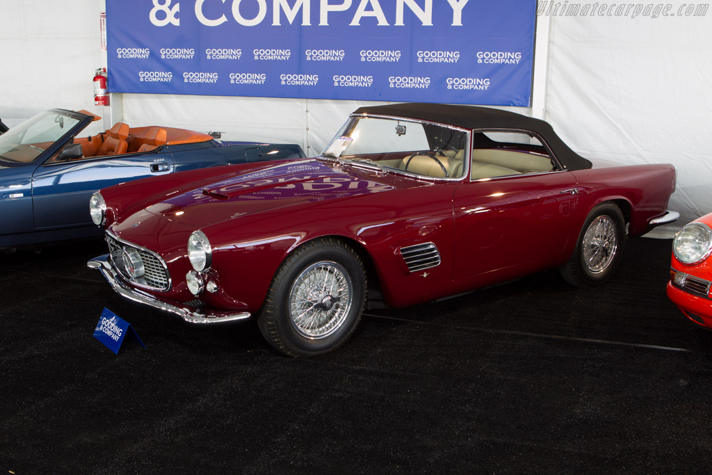 Maserati 3500 GT Spider Prototype - Chassis: AM101.124   - 2013 Monterey Auctions