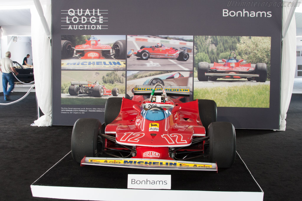 Ferrari 312 T4 - Chassis: 037   - 2014 Monterey Auctions