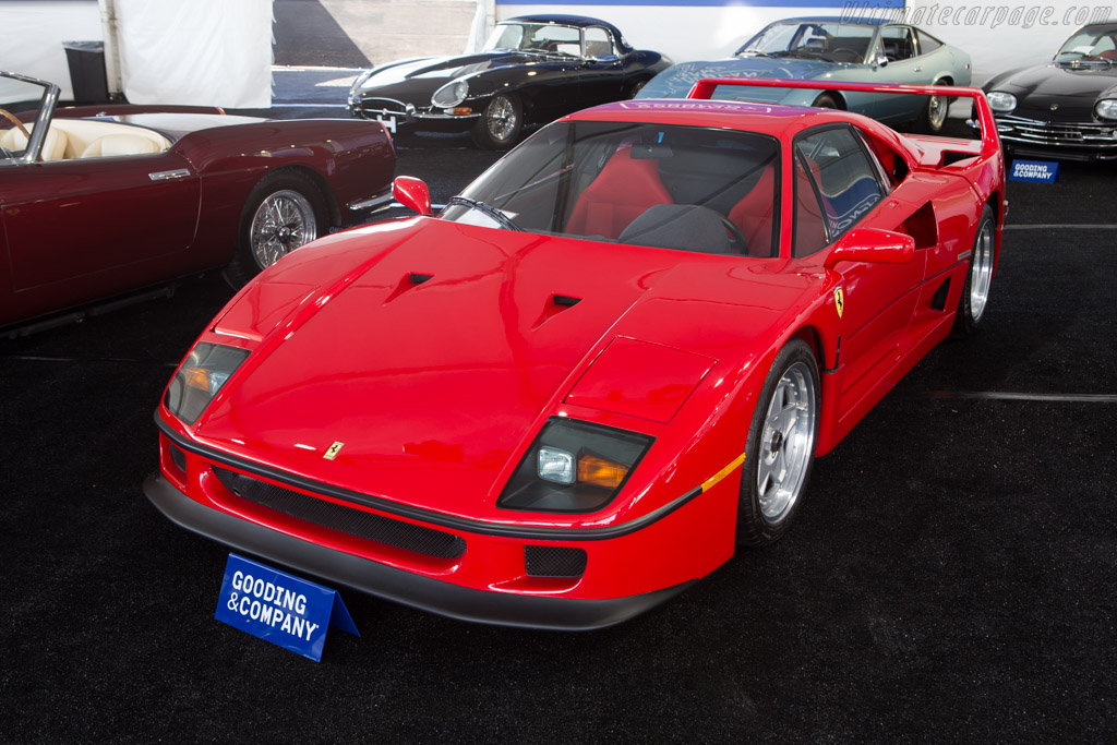 Ferrari F40 - Chassis: 85596   - 2014 Monterey Auctions