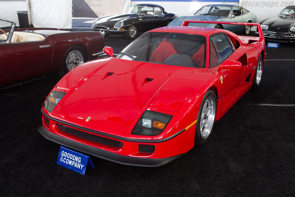 Ferrari F40 - Chassis: 85596   - 2014 Monterey Auctions